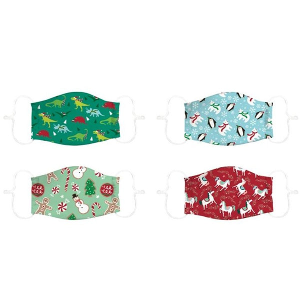 Evergreen - Kids Adjustable Non-Medical Cotton Face Mask - (Select Style)