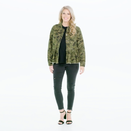 Banks Jacket, Green Camo