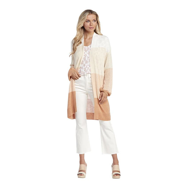 Blush Nylah Stiped Cardigan