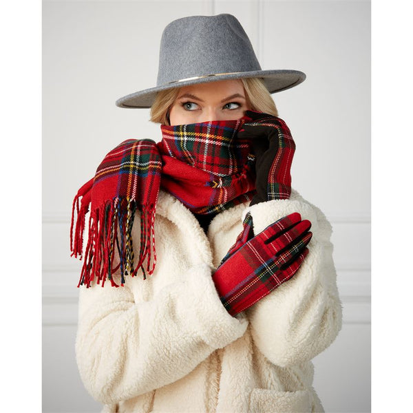 Scarf & Gloves Holiday Gift Set
