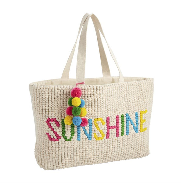 Summer Word Tote Sunshine