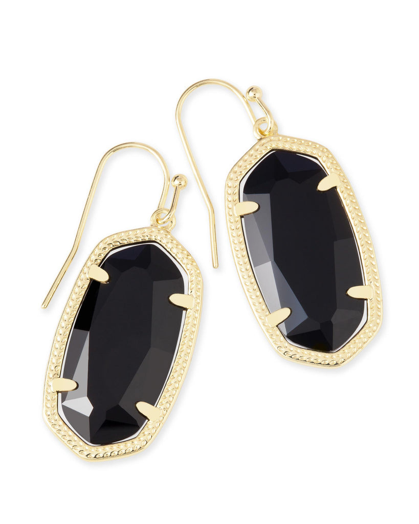Dani Earring Gold Black