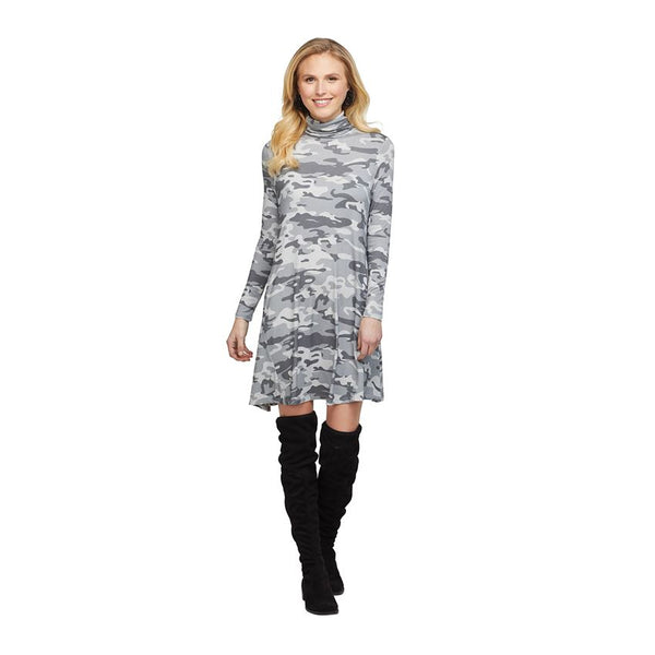 TOPHER TURTLENECK DRESS (Click To Select Color)