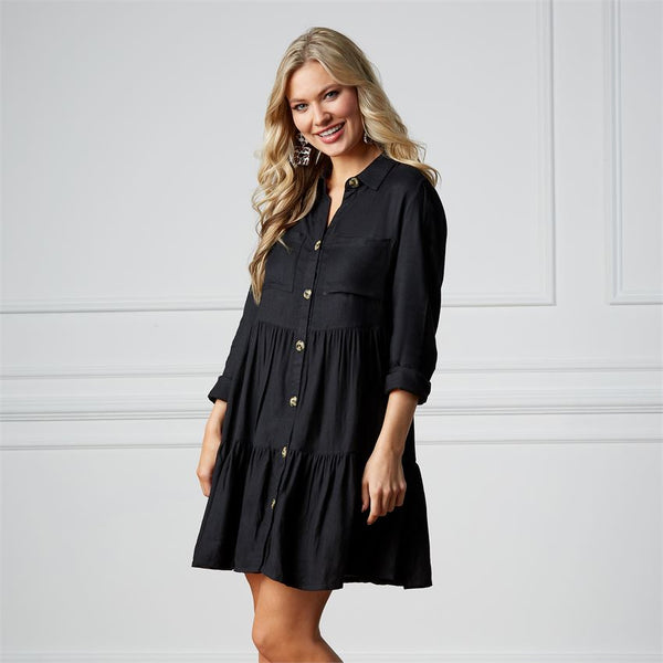 Clover Button Down Dress
