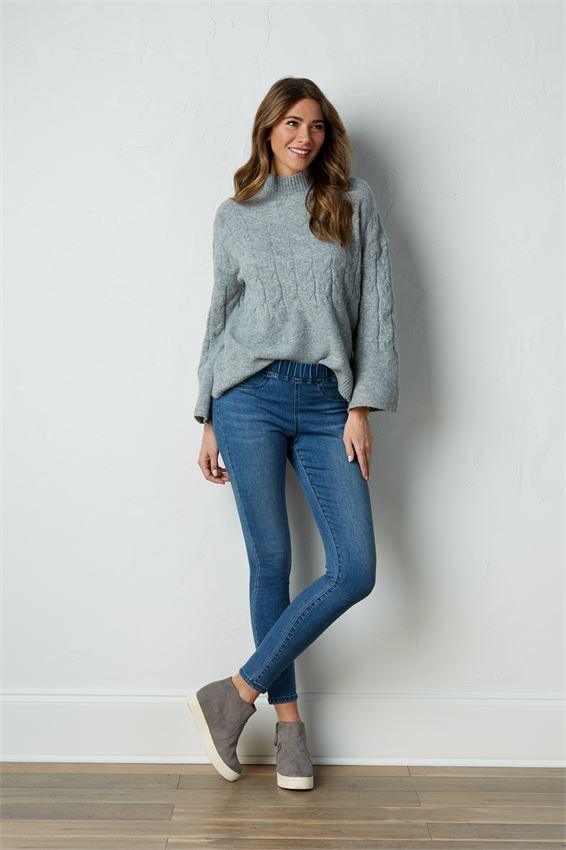 ELYSE DENIM LEGGINGS (Click For More Selection)