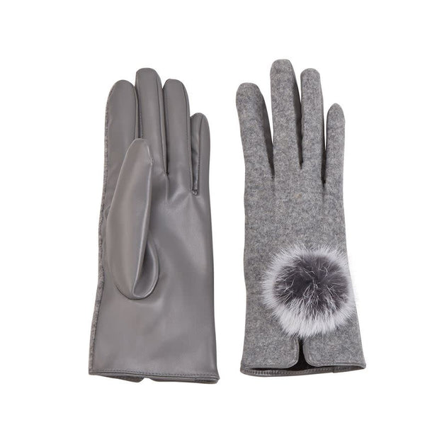 Poof Gloves - Gray