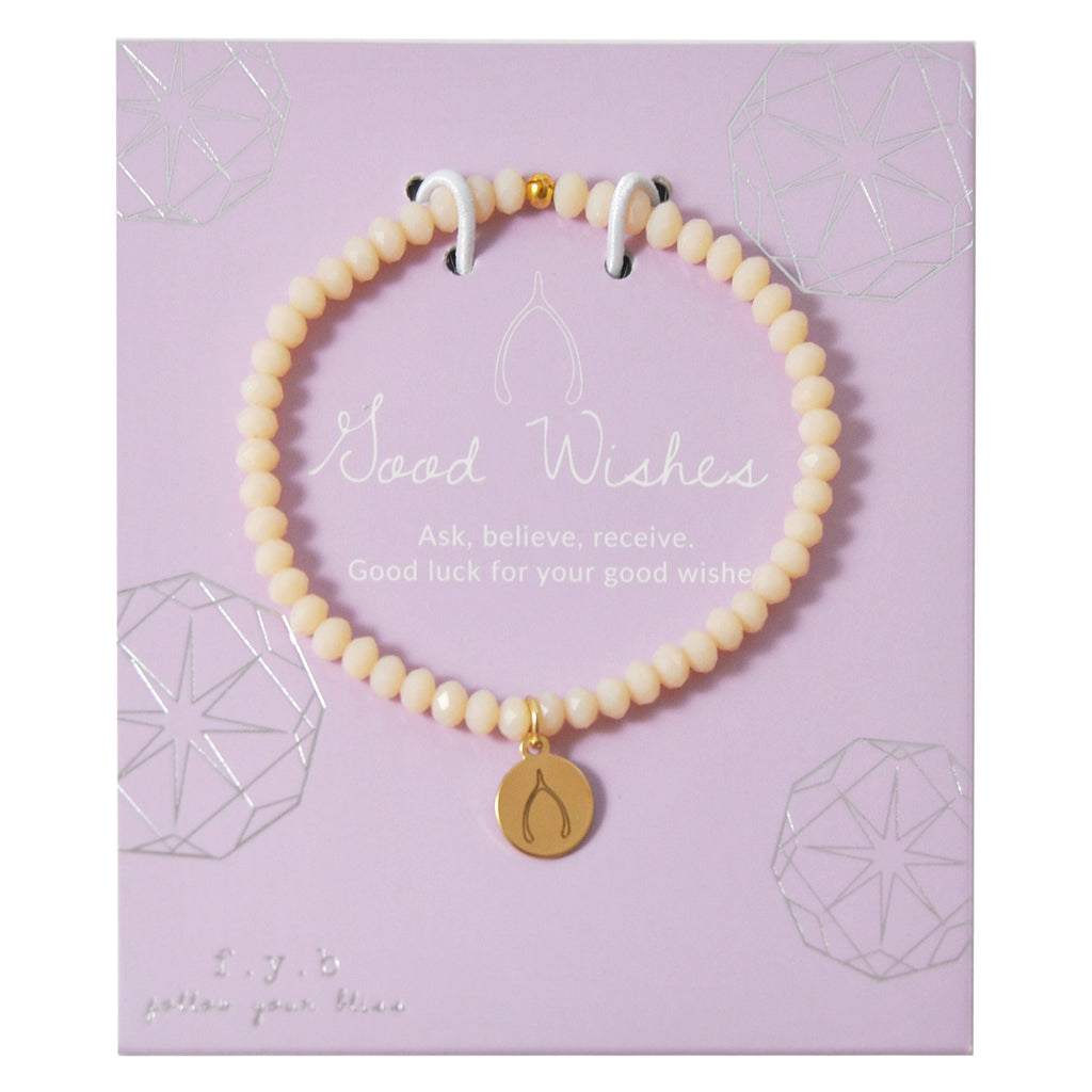 MINI CRYSTAL PEACH GOOD WISHES