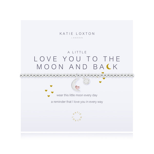 A Little Love You To The Moon & Back- Bracelet