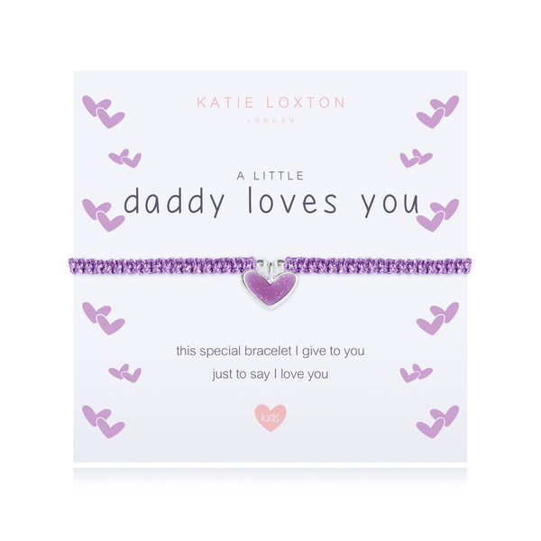 a little DADDY LOVES YOU - bracelet