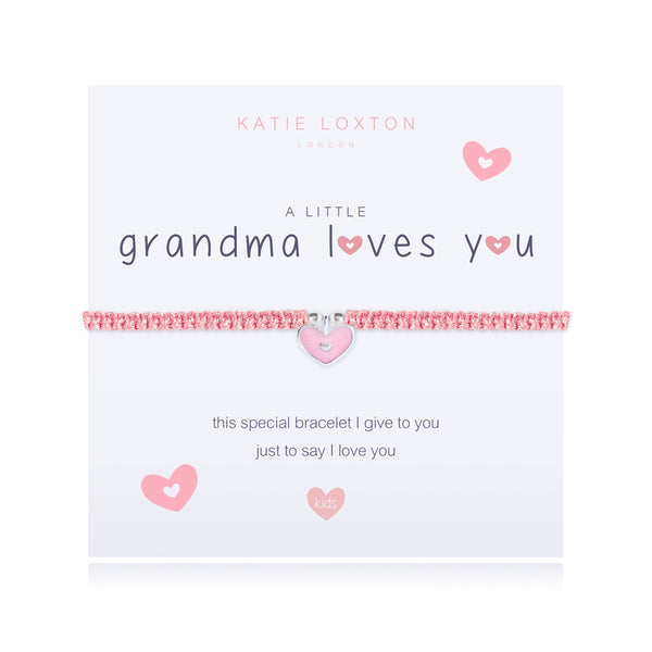 a little GRANDMA LOVES YOU - bracelet