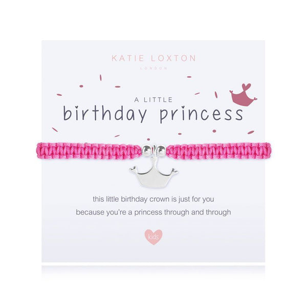 a little BIRTHDAY PRINCESS - children bracelet