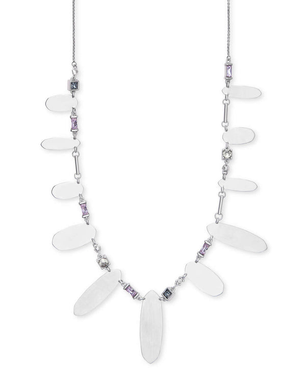 Airella Necklace, Rhod Lilac Mix