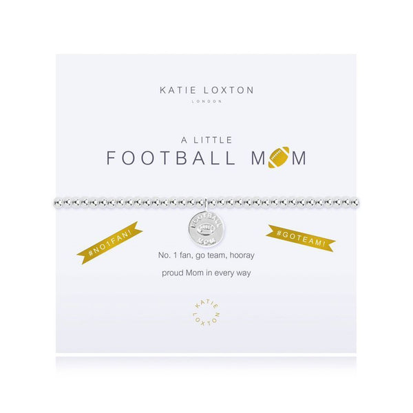a Little Football Mom Bracelet