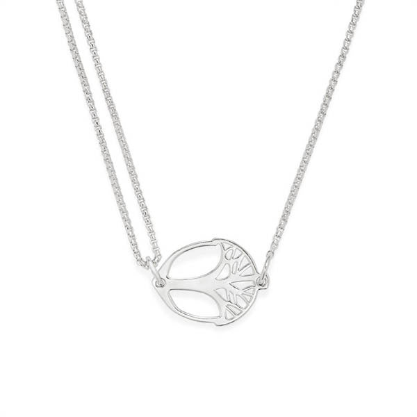 **Providence Pull Chain Necklace, Unexpected Miracles, Sterling Silver