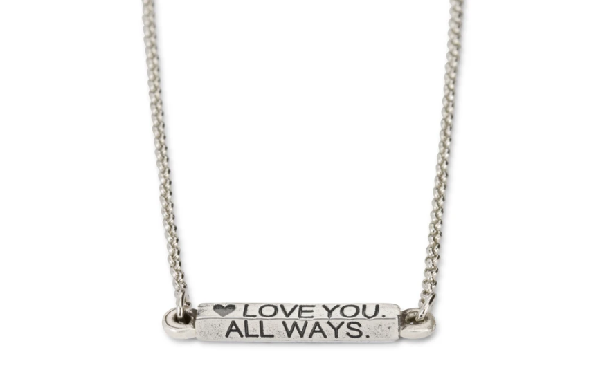 Always Necklace, Silver