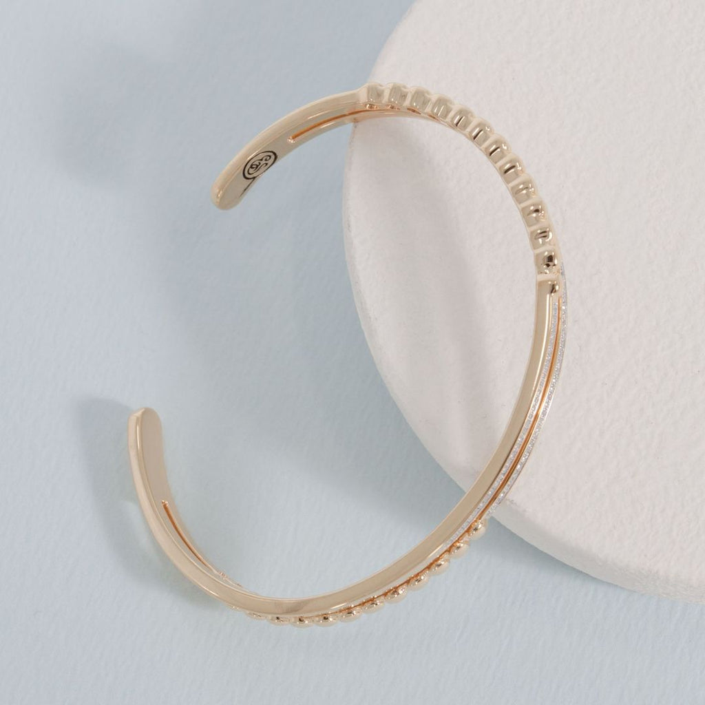 Change It Up Cuff Bracelet- Gold