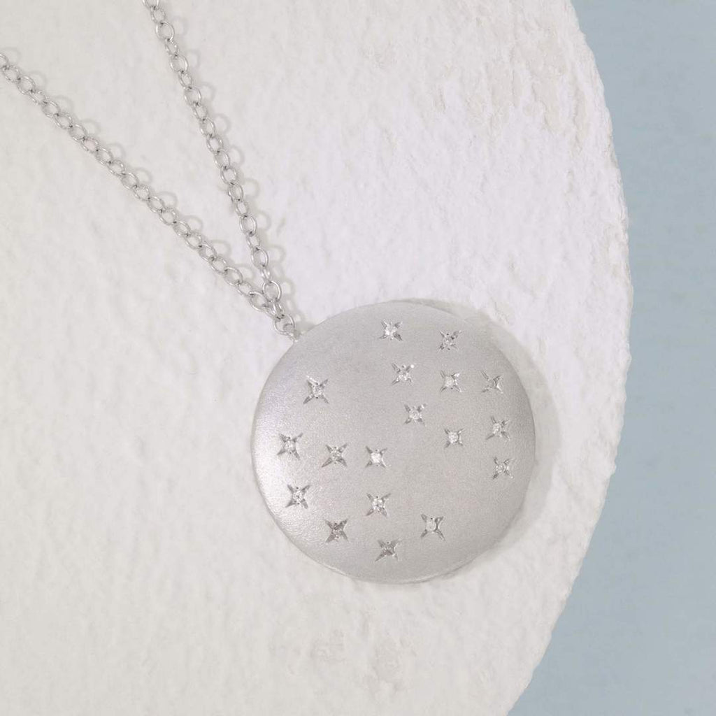 Oh, Starry Night Necklace- Silver