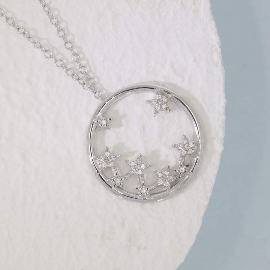 A Star Is Born Necklace- Silver