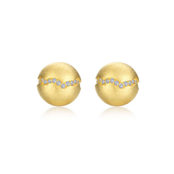0.32 CTW Ball Stud Earrings
