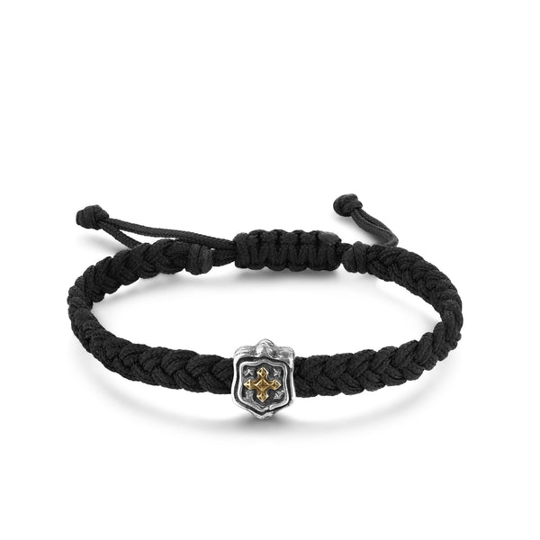 ARMOR | Woven Leather Bracelet
