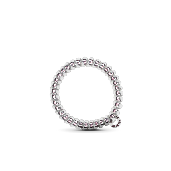 Electric Silver - Small Hair Tie