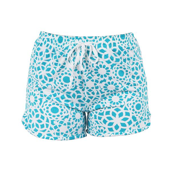 Leisure Time Lounge Shorts, Tranquil Turquoise