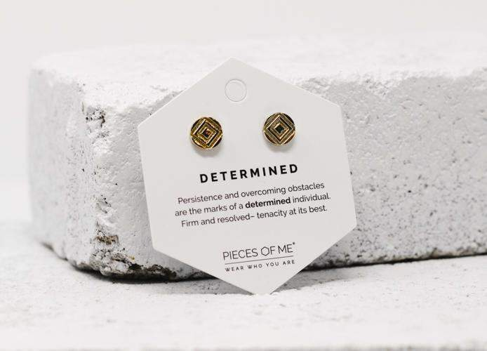 Determined Earrings