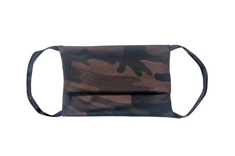 American Mask - Adult Camo Brown