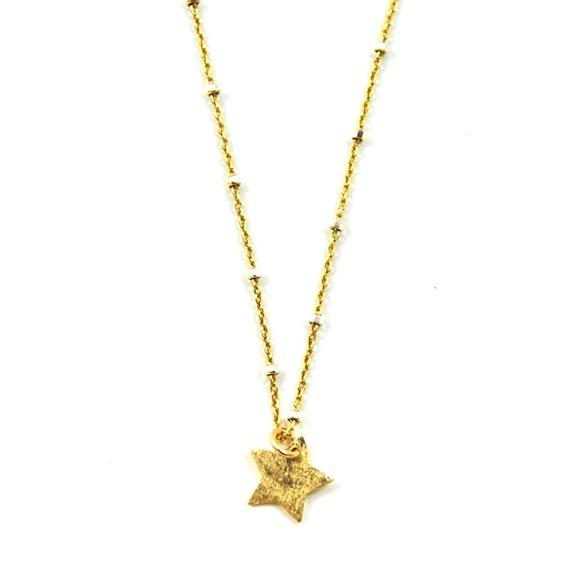 LITTLE CHARM NECKLACE STAR