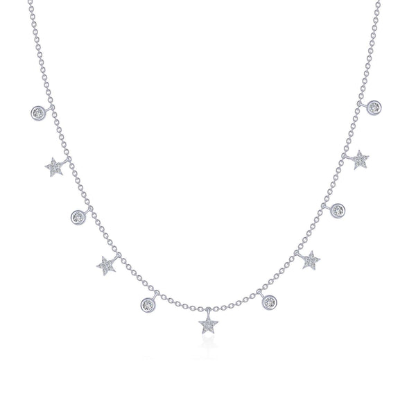 0.73 CTW Starfall Necklace