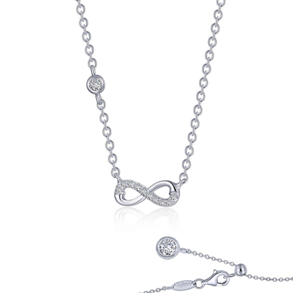 0.36 CTW Infinity Necklace