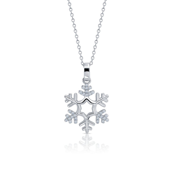 CLASSIC Platinum Simulated Diamond NECKLACES ( CTTW:0.3 | US: 18 )