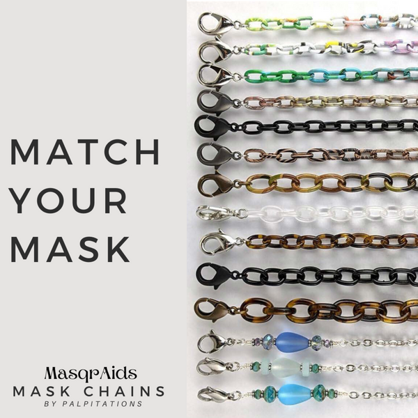 Masqraids Face Mask Chain - 11.6MM (Select Color)