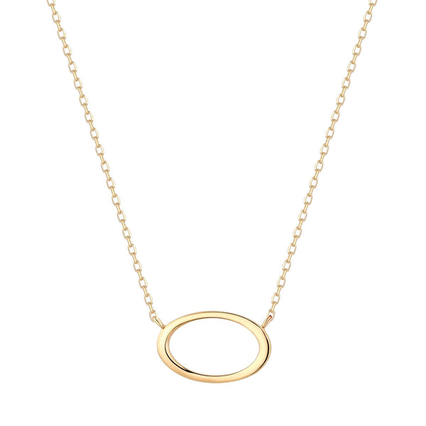 Single Ring Necklace Chain