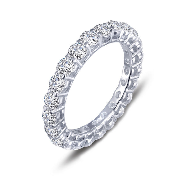 CLASSIC Platinum Simulated Diamond RINGS ( CTTW: 2.53 )