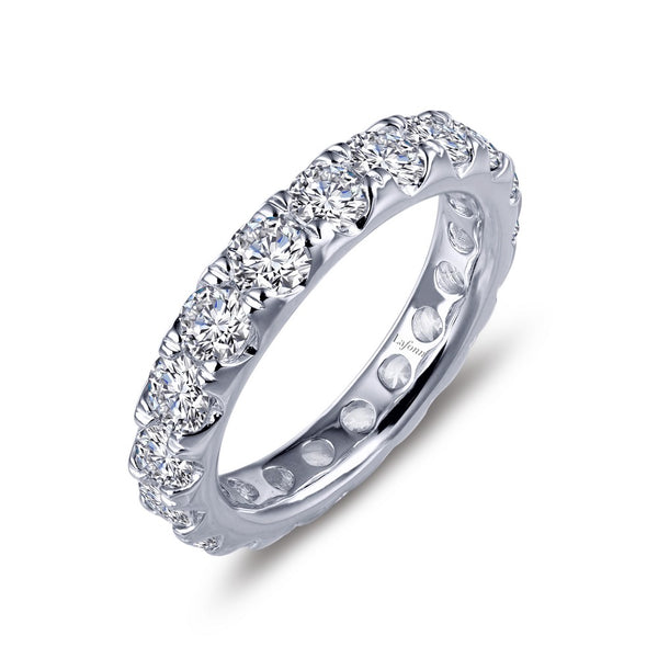STACKABLES Platinum Simulated Diamond RINGS ( CTTW: 3.23 )