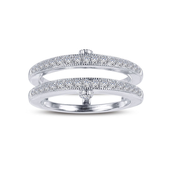 CLASSIC Platinum Simulated Diamond RINGS ( CTTW:0.4 | US: 5 )