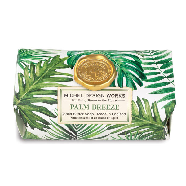 Palm Breeze Large Bath Soap Bar