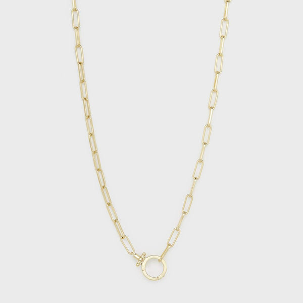 Parker Necklace, Gold