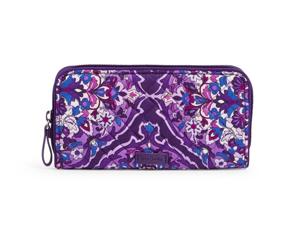 Iconic RFID Georgia Wallet Regal Rosette