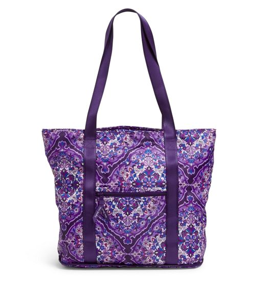 Packable Tote Regal Rosette