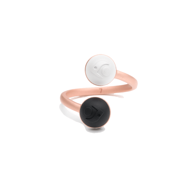 Coil Ring- Rose Gold