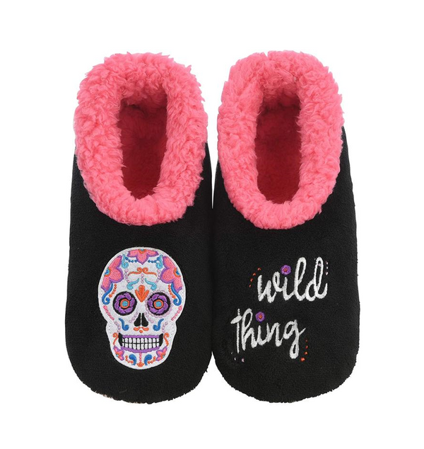 Women's Wild Thing Snoozies in Black