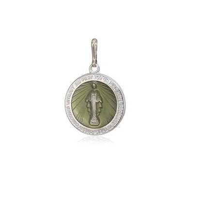 Alex and Ani Miraculous Medal Silver Charm LTD