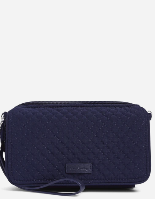 RFID All in One Crossbody in Classic Navy