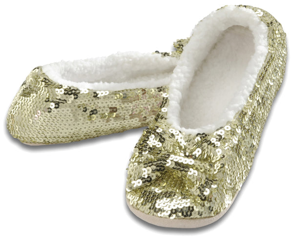 Women's Classic Bling Snoozies in Gold