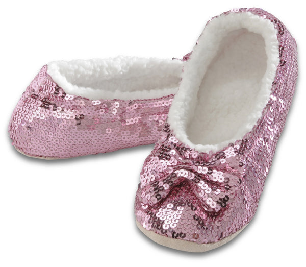 Women's Classic Bling Snoozies in Pink