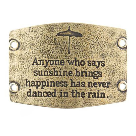 "Vintage Sentiment, ""Anyone who says sunshine brings happiness ..."""