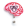 Brain Badge Holder