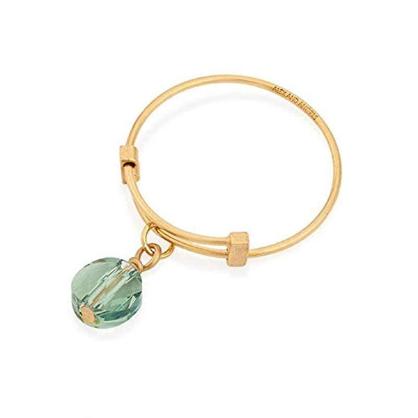 Crystal Infusion, Expandable Wire Ring, Sprout, 14Kt GP